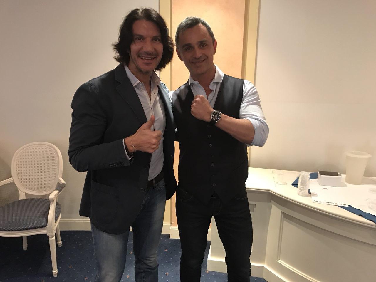 Con Filippo Ongaro al corso di gestione dello stress in Medicina Funzionale