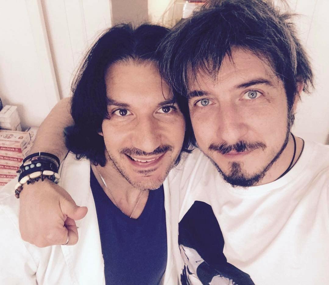 Con Paolo Ruffini